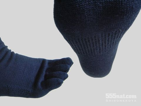 Shironekoya Comfortable 5 Fingers Socks