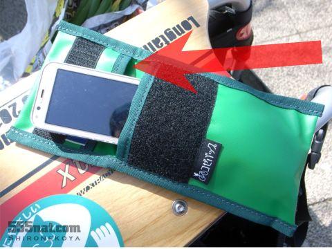 サイクリング防水防汗パースのミニポケット