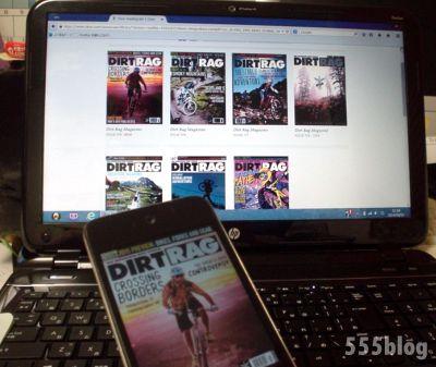 紙からビットへ。海外自転車雑誌年間購読。