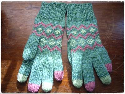 アップサイクルな手袋