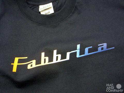 2011ファブリカTシャツ
