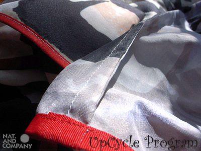 バッグの裏側の縫製は美しく、しっかり処理してあります。