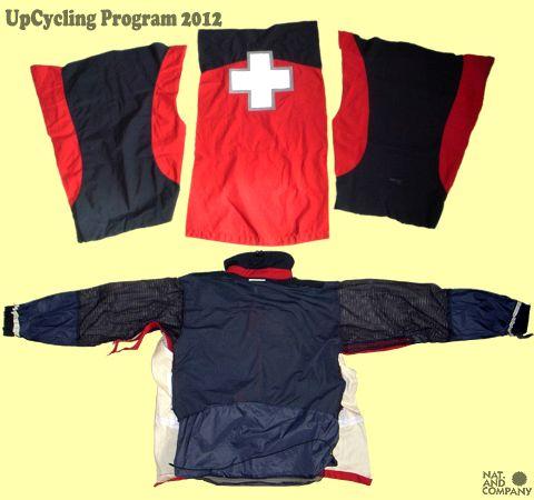 アップサイクル GoreTexスキーパトロールジャケットのリサイクル(2)
