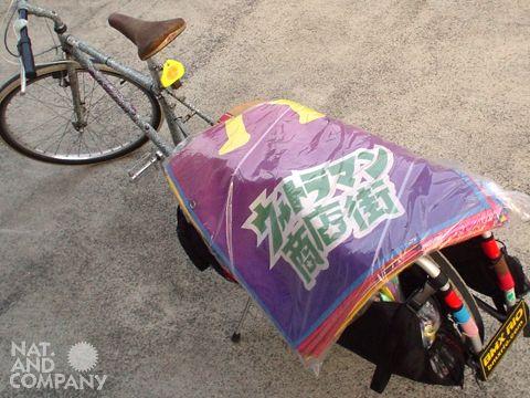 ウルトラマン祖師谷商店街2011夏のアップサイクル