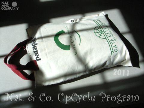 バンフ映画祭2010アップサイクルバッグ完成!